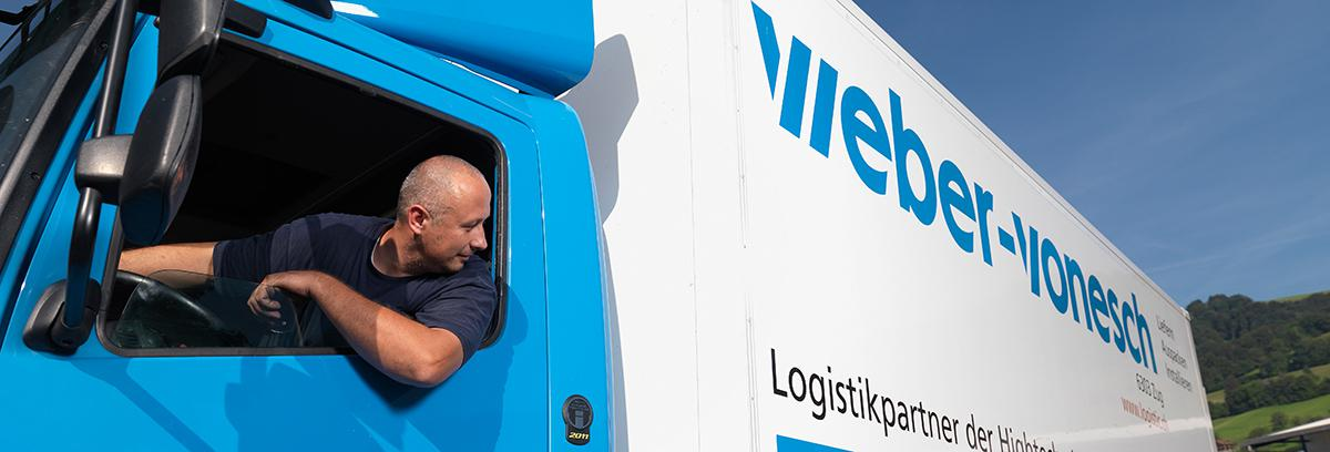 Contact Weber Vonesch Transport AG