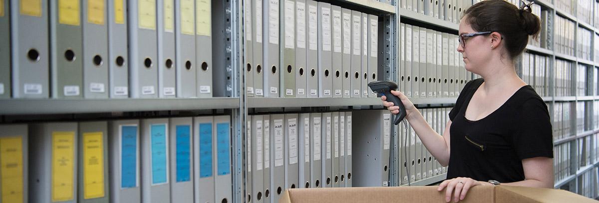 Ihre Dokumente werden sicher aufbewahrt und wenn nicht mehr benötigt, entsorgt.