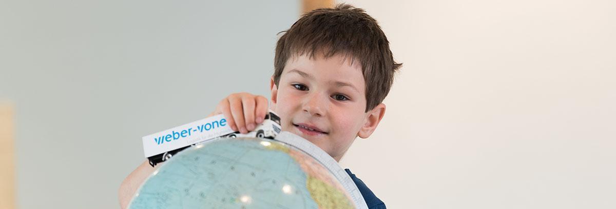 Dank unserem internationalen Netzwerk bieten wir Ihnen weltweit den besten Service.