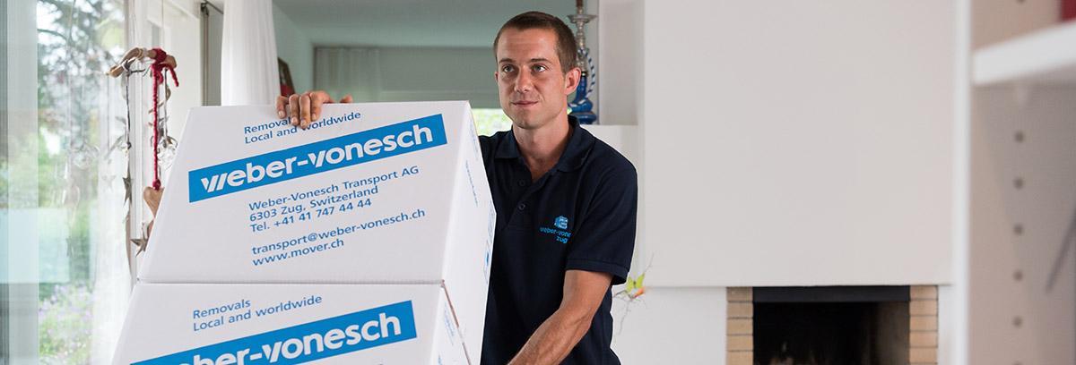 Interesting jobs in an exciting work environment - Weber Vonesch Transport AG